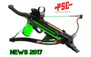 PSE PISTOLA BALESTRA ZOMBIE REACT FULL KIT NEWS 2017