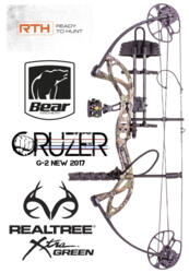 ARCO COMPOUND BEAR 2017 CRUZER G-2 15-70 lbs X-TRA CAMO NEWS