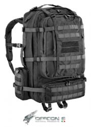 DEFCON 5 ZAINO MILITARE EAGLE BACKPACK CON PORTAFUCILE BLACK