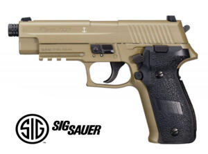 SIG SAUER P226 FULL METAL BLOWBACK NAVY FDE