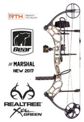 ARCO COMPOUND BEAR 2017 MARSHAL 50-70 lbs X-TRA CAMO RTH NEWS