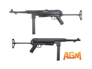 MP 40 FULL METAL BLACK