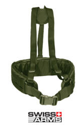 SWISS ARMS GILET TATTICO BELT SUSPENDER OD GREEN