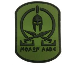 PATCH -  MOLON LABE SPARTAN PATCH - FOREST