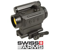 "SWISS ARMS RED DOT ""MICRO"" AUTO ADAPTIVE DOT SIGHT ATTACCO RAPIDO"