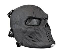 MASCHERA SKULL FULL PROTECTION NERA