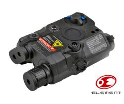 ELEMENT TORCIA LED E LASER IR AN/PEQ 15 NERO