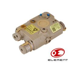 ELEMENT TORCIA LED E LASER IR AN/PEQ 15 TAN