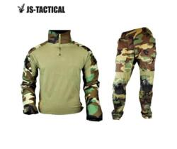JS WARRIOR UNIFORME WOODLAND COMBAT