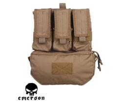 EMERSON ASSAULT BACK PANEL COYOTE BROWN