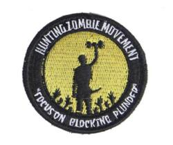 EMERSON GEAR PATCH SURVIVOR HUNTING ZOMBIE YELLOW