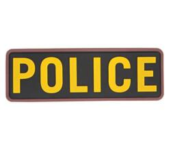 EMERSON PATCH POLICE YELLOW
