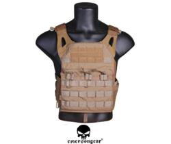 EMERSON JUMPABLE LIGHTWEIGHT PLATE CARRIER COYOTE BROWN