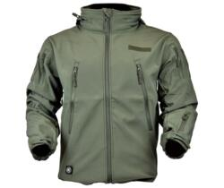 JS-TACTICAL GIACCA SOFT SHELL SHARK SKIN VERDE