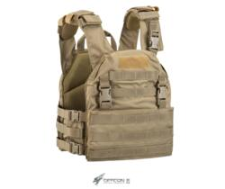 DEFCON 5 THUNDER VEST CARRIER CORDURA 900D COYOTE TAN