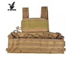 JS-TACTICAL RECON TACTICAL CHEST RIG TAN