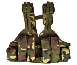 ROYAL TACTICAL VEST LEGGERO WOODLAND