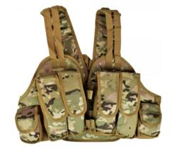 ROYAL TACTICAL VEST LEGGERO MULTICAM