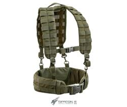 DEFCON 5 LOADING HARNESS BEARING BELT  CORDURA 1000D OD GREEN