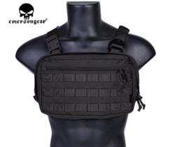 EMERSON GEAR CHEST RECON BAG BLACK