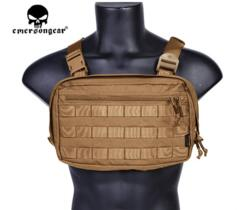EMERSON GEAR CHEST RECON BAG COYOTE BROWN