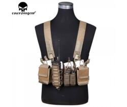 EMERSON GEAR D3CR TACTICAL CHEST RIG COYOTE BROWN