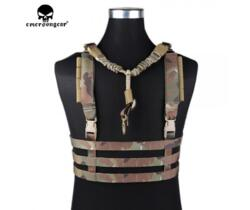 EMERSON GEAR TATTICO MOLLE SYSTEM LOW PROFILE CHEST RIG MULTICAM