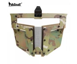WOSPORT MASCHERA PER ELMETTO IRON WARRIOR FULL FACE MULTICAM
