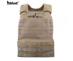 WOSPORT TACTICAL VEST PLATE CARRIER TAN