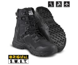 ORIGINAL SWAT ALPHA FURY 8'' NERO ZIP LATERALE