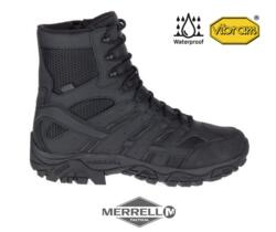 "MERRELL MOAB 2 8"" TACTICAL WATERPROOF BLACK"