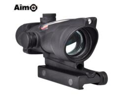 AIM-O RED DOT ACOG CON FIBRA OTTICA NERO