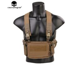 EMERSON GEAR MICRO CHEST RIG COYOTE BROWN