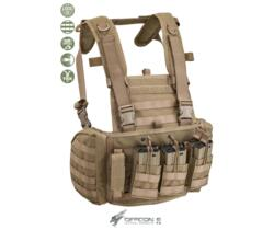 DEFCON 5 CHEST RIG MARTE  CORDURA 1000D COYOTE TAN