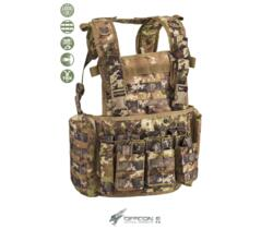 DEFCON 5 CHEST RIG MARTE  CORDURA 1000D VEGETATO ITALIANO