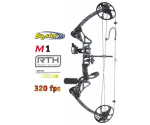 BOOSTER ARCO COMPOUND M1 READY TO HUNT 15-70 LBS SMOKE CAMO