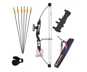 FULL KIT ARCHERY ARCO COMPOUND ROYAL 60 lbs