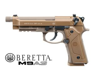 UMAREX BERETTA M9A3 MILITARY CO2 FDE BLOW-BACK FULL METAL NEW