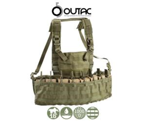 OUTAC MOLLE RECON CHEST RIG 1000D OD GREEN