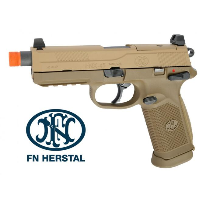 FN HERSTAL FNX-45 TACTICAL DARK EARTH SCARRELLANTE