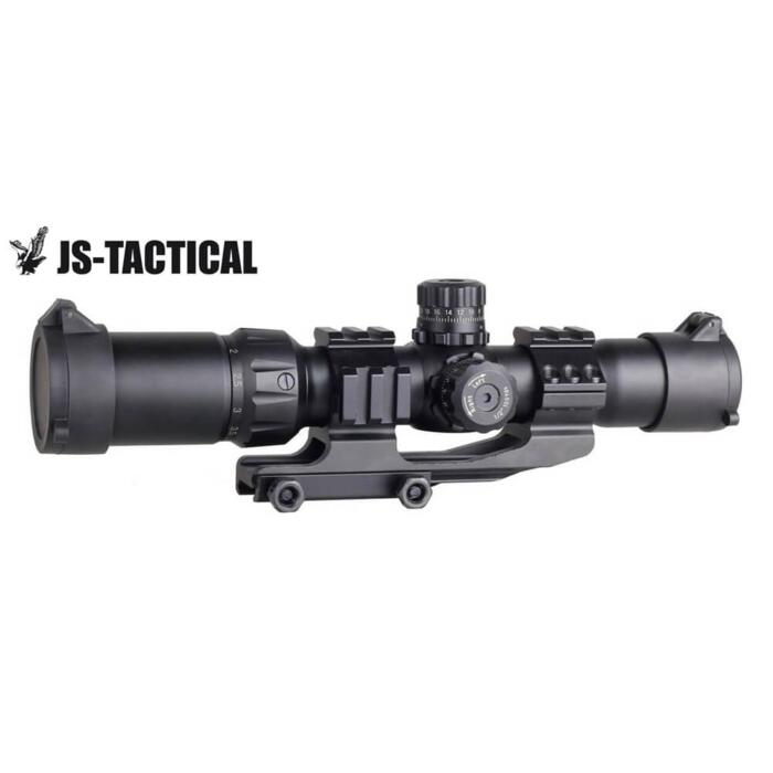 JS-TACTICAL OTTICA 1,5-4X30 RAIL ILLUMINATA