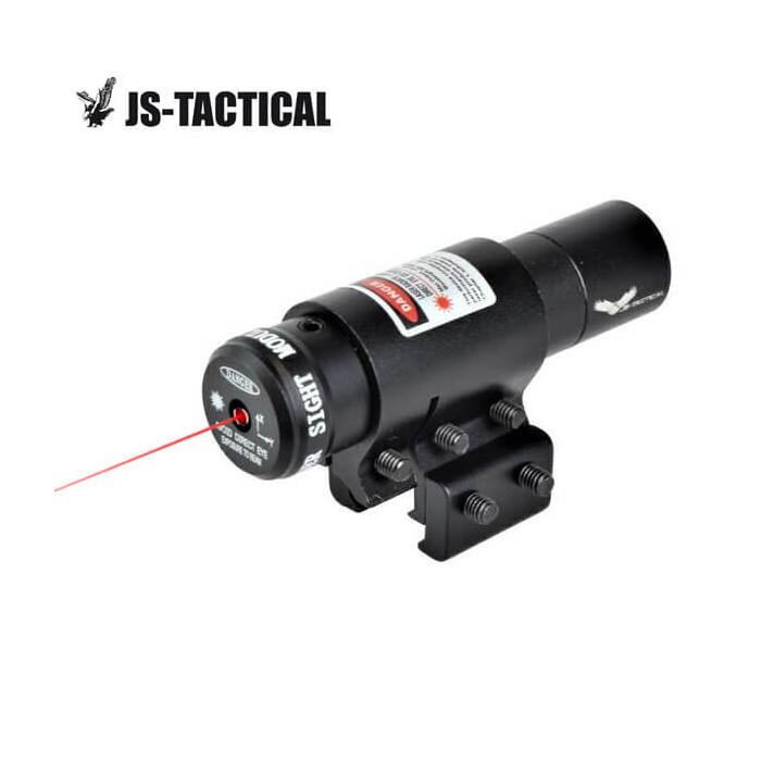 JS-TACTICAL LASER FULL METAL CON ATTACCO WEAVER