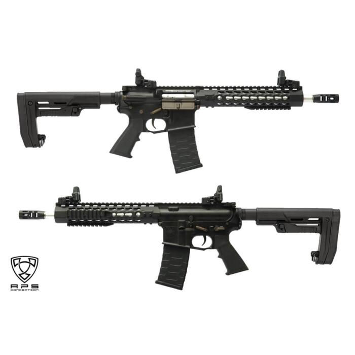 APS M4 ASR114 COMBAT BLACK BLOWBACK