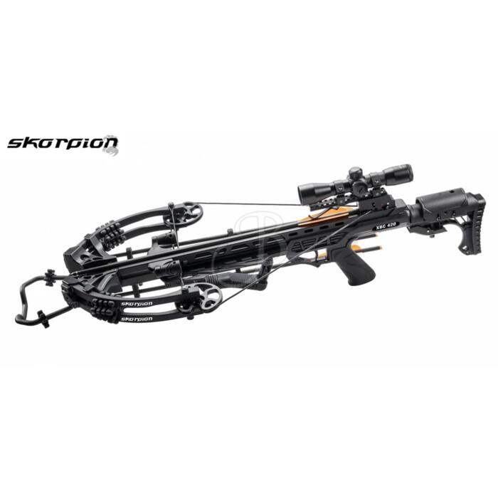 SKORPION BALESTRA COMPOUND XBC420 BLACK 405fps FULL KIT