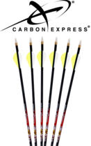 SET 6 DARDI ARCO CARBON EXPRESS THE CRUSH 250