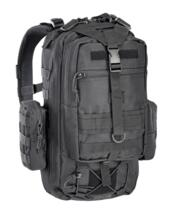 DEFCON 5 ZAINO MILITARE TACTICAL ONE DAY BACK PACK BLACK - NEW MODEL !!!