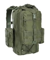 DEFCON 5 ZAINO MILITARE TACTICAL ONE DAY BACK PACK GREEN MILITARY - NEW MODEL !!!