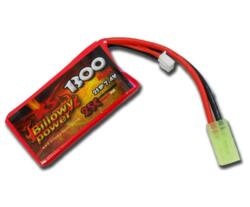 BATTERIA LIPO BILLOWY 7,4V - 1300mAH 25C