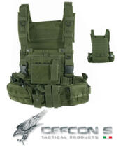 DEFCON 5 RECON HARNESS 1000D GREEN MILITARY