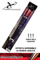 CARBON EXPRESS DARDO BALESTRA GAME SLAYER® 22' 3PZ + PUNTE SUPER OFFERTA